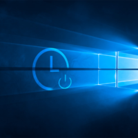 Отключение по таймеру Windows 10