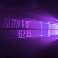 Вышла сборка 16299 для компьютеров в Slow Ring