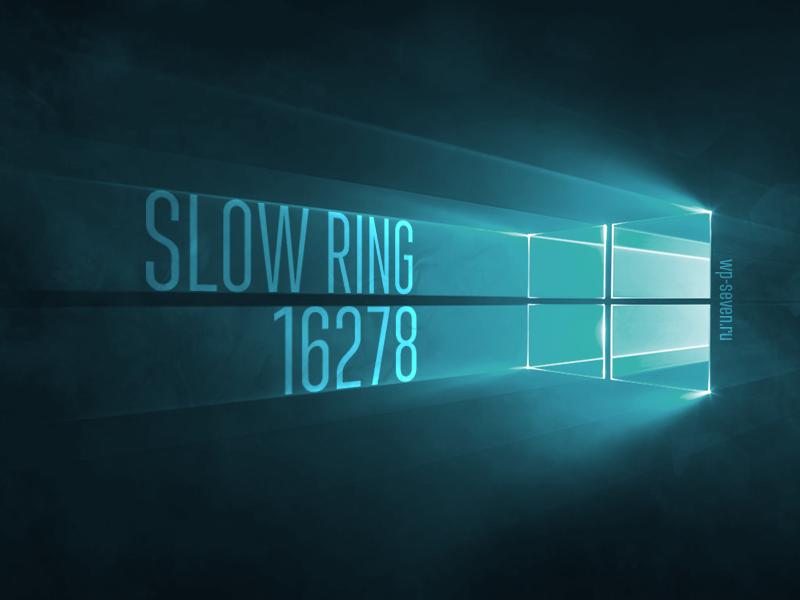 Slow Ring 16278