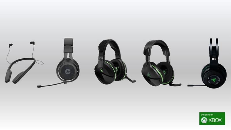 Xbox Wireless Headsets