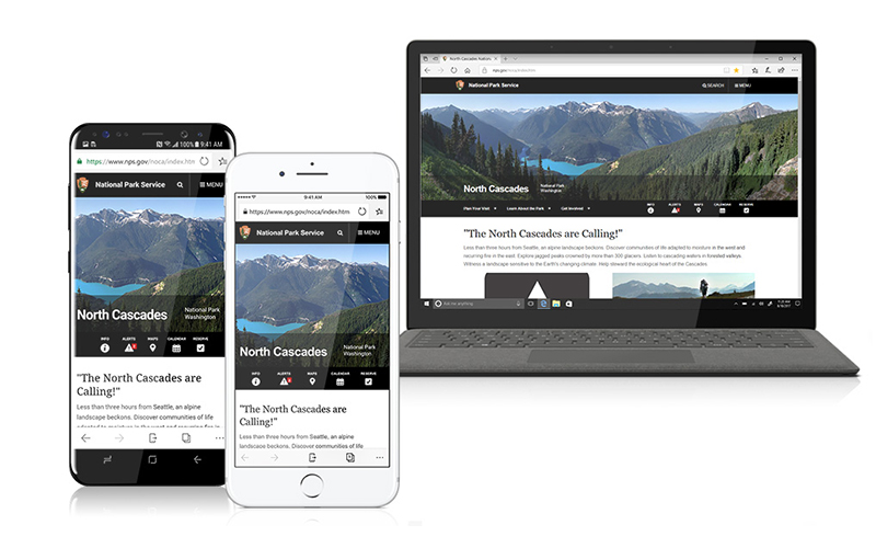 Edge iOS Android