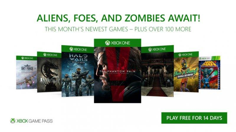 Xbox Game Pass November Updat