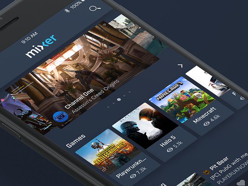 Mixer New App