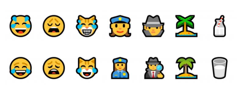 New emojis 17101