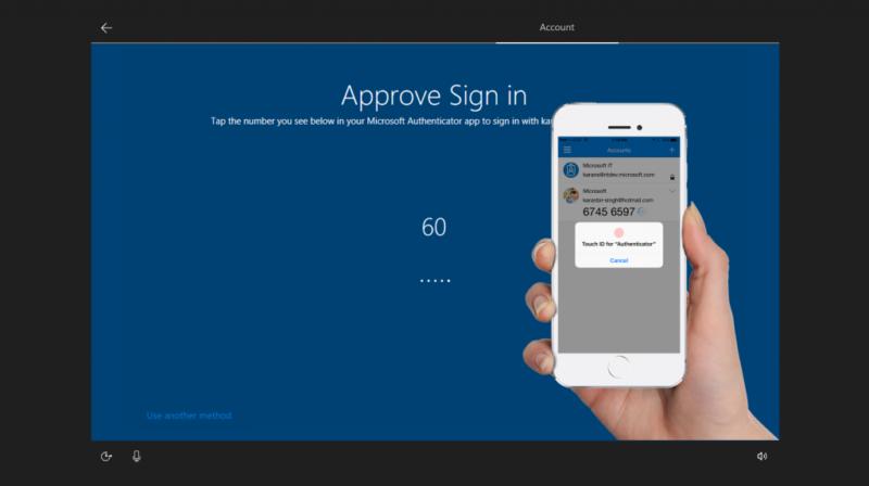 Sign In Windows 10 S