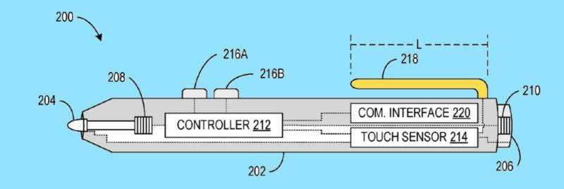 Surface Pen Sesnsor Clip 1
