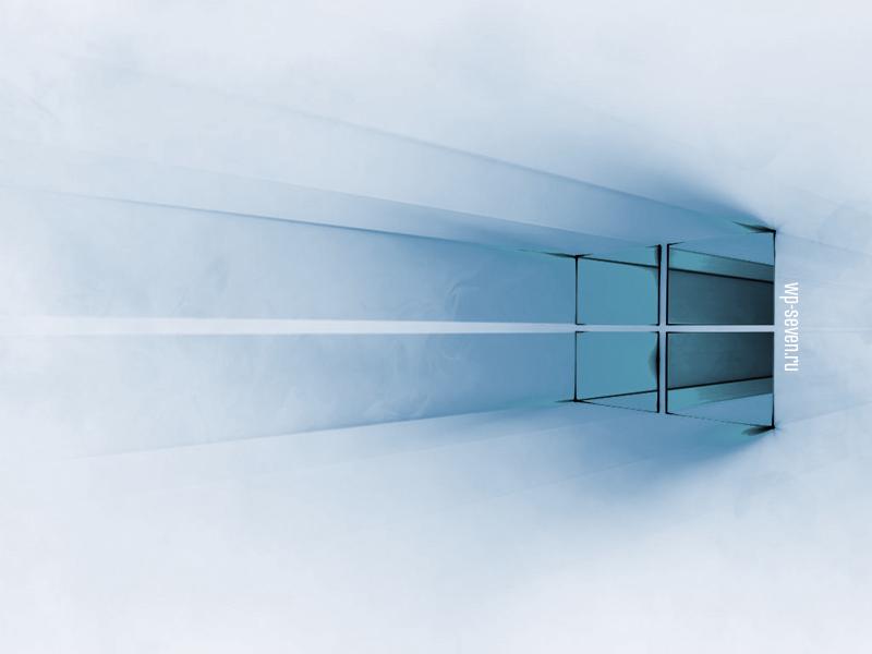 Windows 10 White Blue