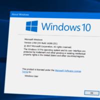 Вышло накопительное обновление для Windows 1709