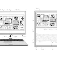 Microsoft запатентовала сгибаемый планшет, способный подключаться к док-станции