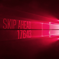 Вышла сборка 17643 в Skip Ahead