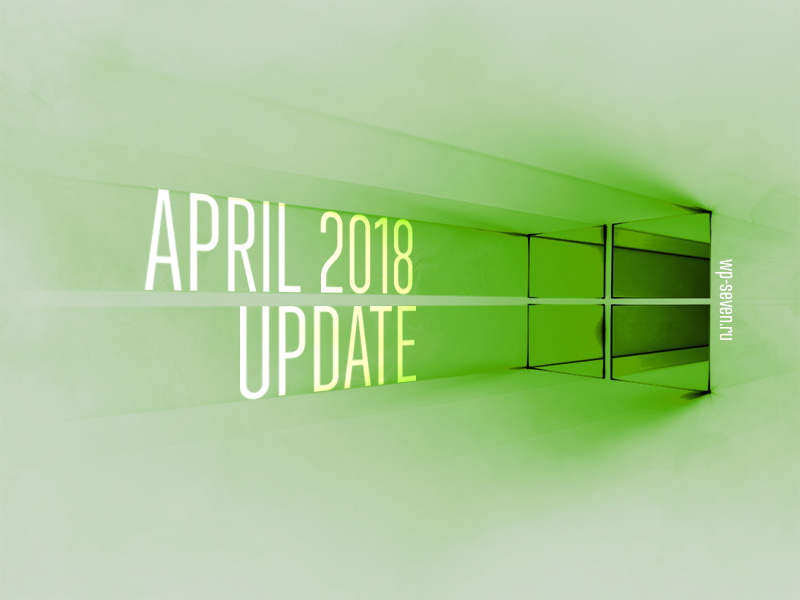 April 2018 Update Hero