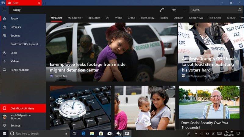 Microsoft News Update