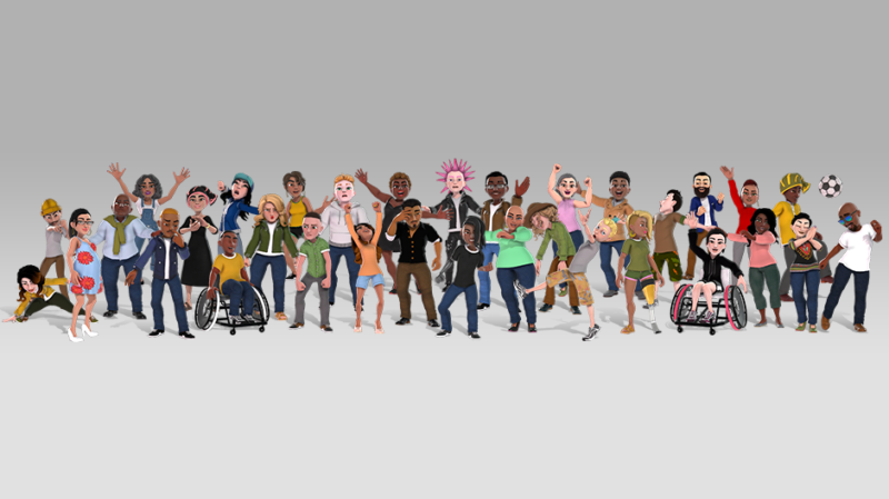 Xbox New Avatars