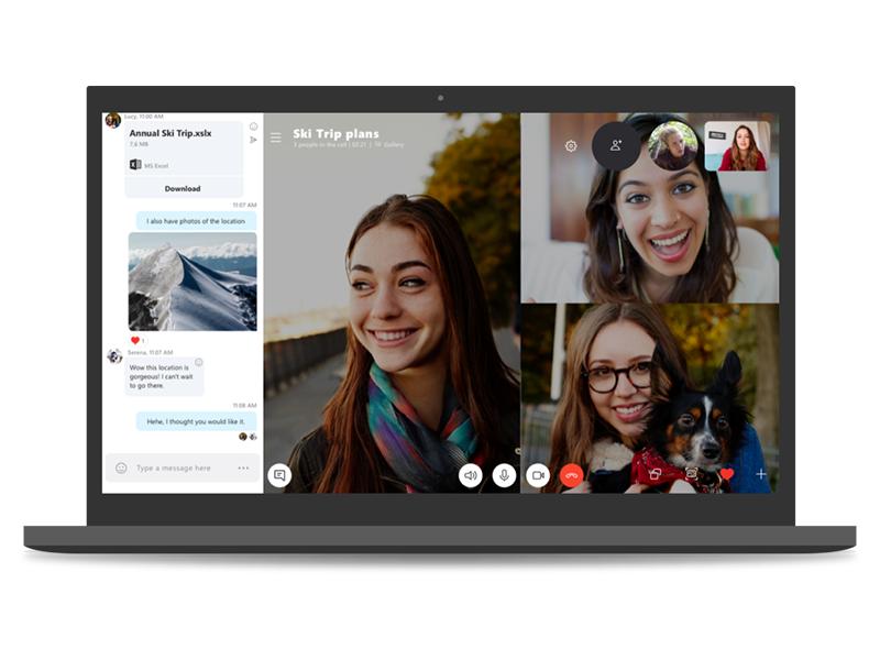 Microsoft прекратит поддержку старой версии Skype вконце осени
