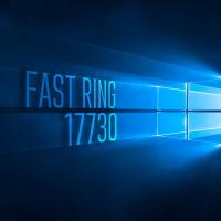 Вышла сборка 17730 в Fast Ring