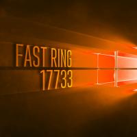 Вышла сборка 17733 в Fast Ring