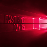 Вышла сборка 17735 в Fast Ring