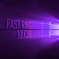 Вышла сборка 17738 в Fast Ring