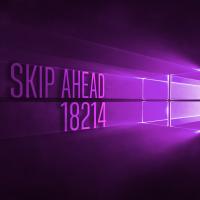 Вышла сборка 18214 в Skip Ahead