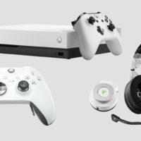 Xbox One X теперь доступна в белом цвете