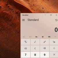 Калькулятор Windows получит поддержку CompactOverlay