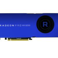 AMD представила «недорогую» видеокарту Radeon Pro WX 8200