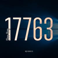 Вышла сборка 17763 в Slow Ring