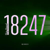 Вышла сборка 18247 в Skip Ahead