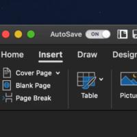 Office для macOS получил темную тему оформления