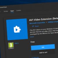 В Microsoft Store появился кодек AV1