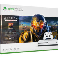 Microsoft представила набор Xbox One S Anthem Bundle