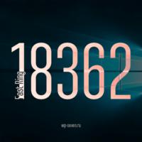Вышла сборка 18362 в Fast Ring