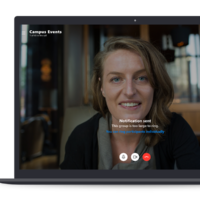 Skype теперь поддерживает групповые звонки до 50 человек