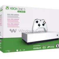 В Сети появились фото Xbox One S без привода