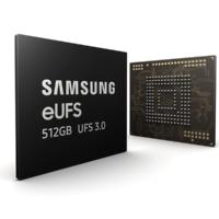 Samsung начала производство памяти UFS 3.0 на 512 Гб