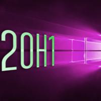 Список изменений Windows 10 20H1