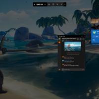 Игровая панель в Windows 10 получила счетчик кадров и панель с достижениями