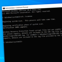 Microsoft подтвердила проблемы в работе команды sfc /scannow