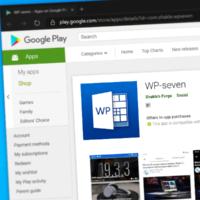 Android-версия клиента wp-seven получила минорный апдейт