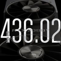 Драйвер Nvidia 436.02 существенно улучшил производительность в играх