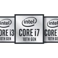 Intel представила 14 нм мобильные процессоры десятого поколения