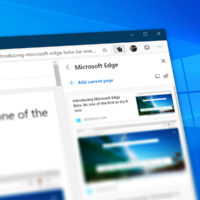 В Microsoft Edge Canary появилась функция Коллекции