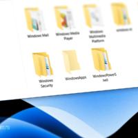 Как удалить папку WindowsApps