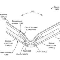 Microsoft запатентовала для сгибаемых устройств шарнир, заполненный жидкостью