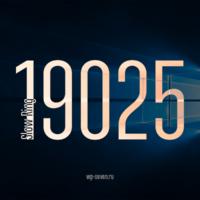 Вышла сборка 19025 в Slow Ring