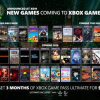 Microsoft анонсировала больше 50 новых игр для Xbox Game Pass