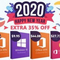 Новогодняя распродажа ключей на Windows 10, Office, антивирусное ПО и другие сервисы