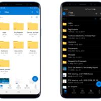 OneDrive для Android получило крупный редизайн