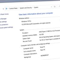 Microsoft планирует убрать из системы классический раздел со сведениями о системе