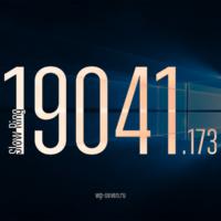 Вышла сборка 19041.173 в Slow Ring